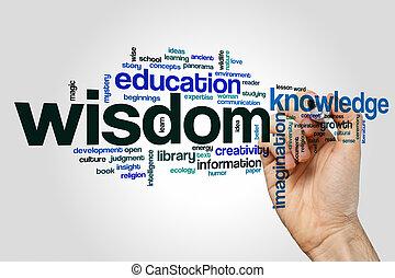 単語, 雲, 知恵, 概念