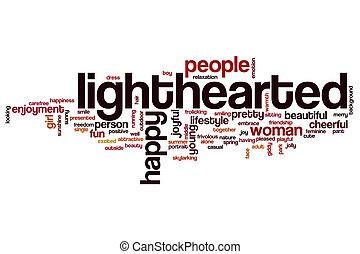 単語, 雲, lighthearted