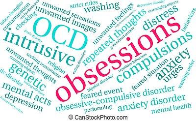 単語, 雲, obsessions