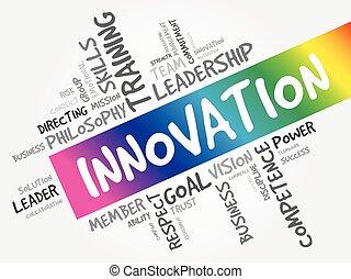 単語, 革新, 雲, 概念