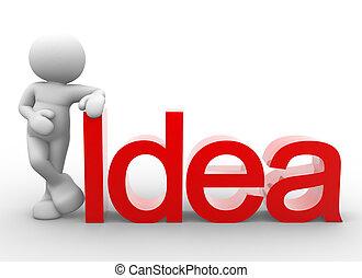 """単語, """"idea"""""""