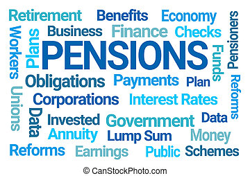 単語, pensions, 雲