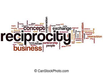 単語, reciprocity, 雲