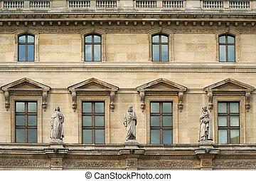 博物館, よろい窓