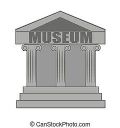 博物馆, 图标