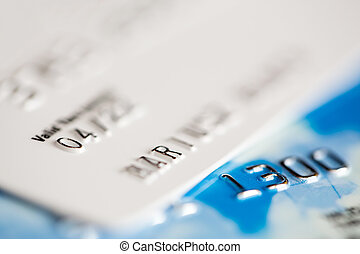 卡片, 信用