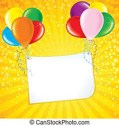 卡片, 慶祝