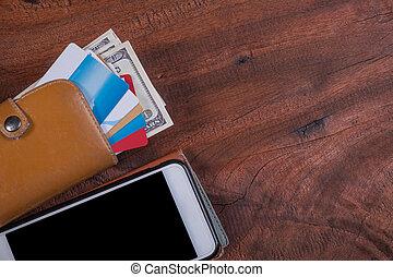 卡片, 钱, walle, 信用