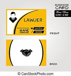 卡片, lawjer, 訪問