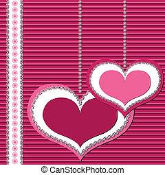 卡片, valentine