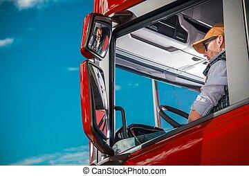 卡車駕駛員, 船艙