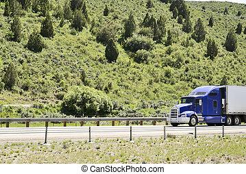 卡車, 上, interstate.