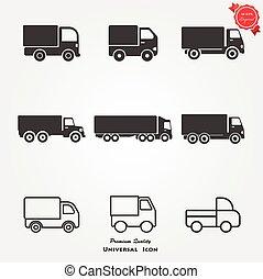 卡車, 圖象