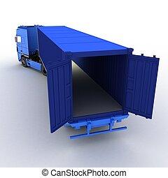 卡車, 被隔离, 在懷特上