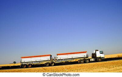 卡車, 路