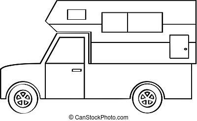 卡車, 露營者