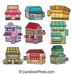 卡通漫画, 房屋图标