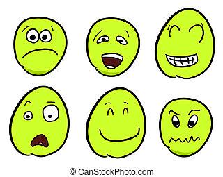 卡通漫画, smileys