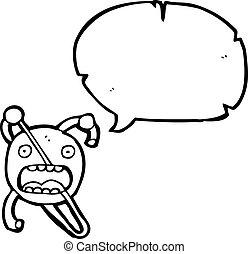 卡通, 原子, 符號