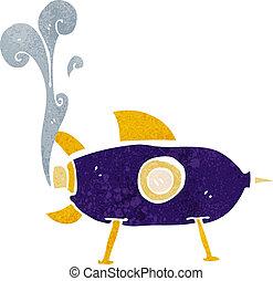 卡通, 空間火箭