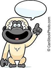 卡通, 長臂猿, 談話