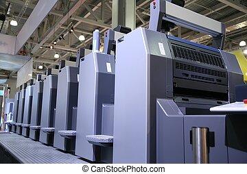 印刷される, 装置, 5