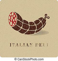 印刷品, 葡萄酒, 熟食品, 蒜味咸辣腸