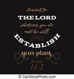 印刷, 格言, t, 引用, 計画, ∥あるいは∥, 神, 聖書, 使用, establish, あなたの, ポスター, 活版印刷, ワイシャツ