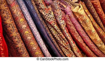 印第安語, 織品