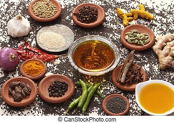 印第安 食物, 成分, 混合物