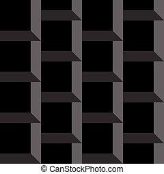 印象, tridimensional, pseudo, ボリューム, arhitectural, 背景, 透明, x4