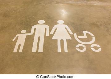 印, 床, の, ∥, 家族