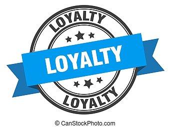 印。, 忠誠, label., 切手, loyaltyround, バンド