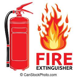 印, 消火器, 火
