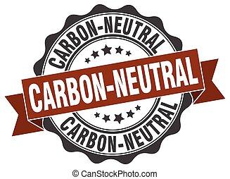 印。, carbon-neutral, stamp., シール