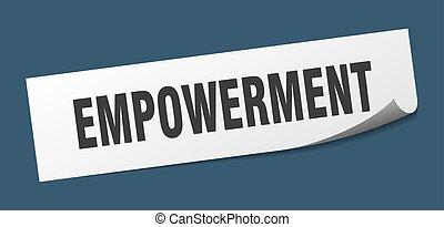 印。, empowerment, sticker., 広場, empowerment., 皮むき器