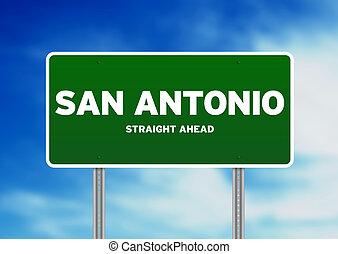 印, san, ハイウェー, antonio, テキサス