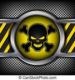危險, 頭骨, 簽署