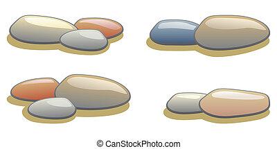 卵石, 彙整