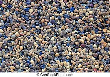 卵石, 鋪, 背景