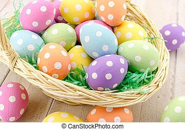 卵, イースターバスケット