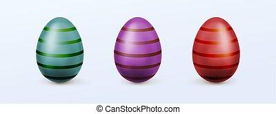卵, イースター, しまのある, patten
