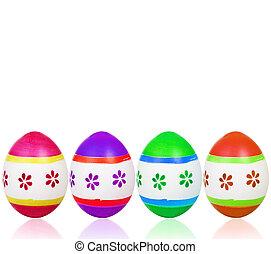 卵, イースター, カラフルである