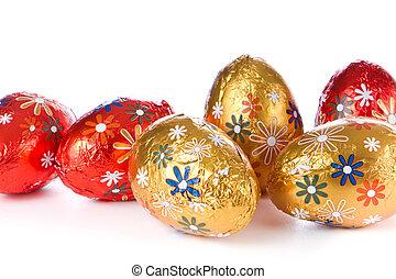 卵, イースター, チョコレート