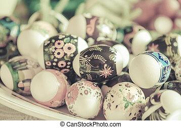 卵, イースター, 型