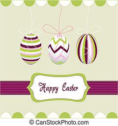 卵, イースター, 幸せ