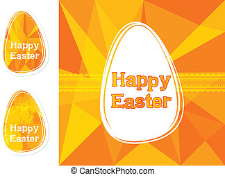 卵, イースター, 背景