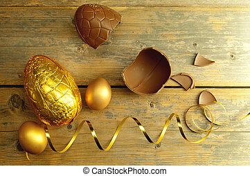 卵, イースター, 金
