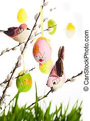 卵, イースター, 鳥