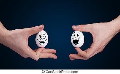 卵, スマイリー額面